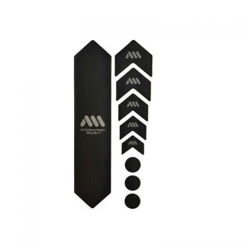 Kit Protection De Cadre All Mountain Style - 9 Pièces - Noir