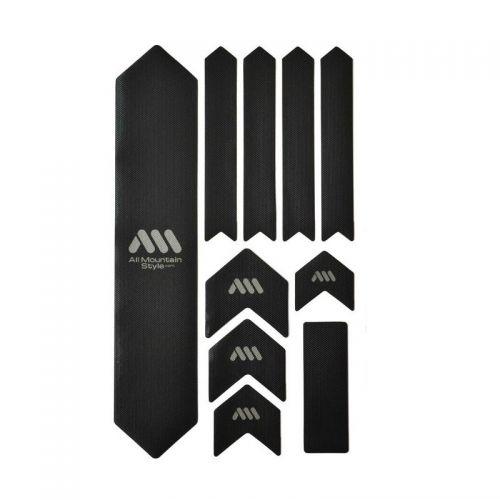 Kit Protection De Cadre All Mountain Style Xl - 10 Pièces - Noir