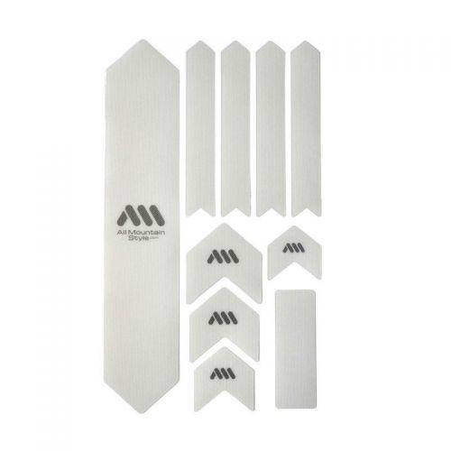 Kit Protection De Cadre All Mountain Style Xl - 10 Pièces - Transparent