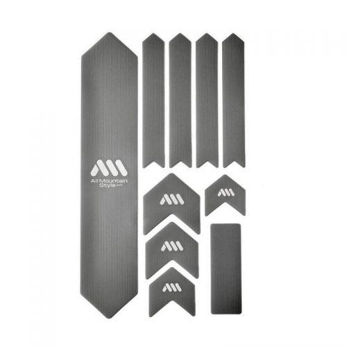 Kit Protection De Cadre All Mountain Style Xl - 10 Pièces - Argent/Blanc