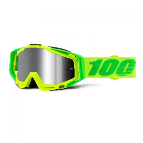 Masque 100% Racecraft Plus - Sour Soul - Ecran Injecté Miroir Flash Argent