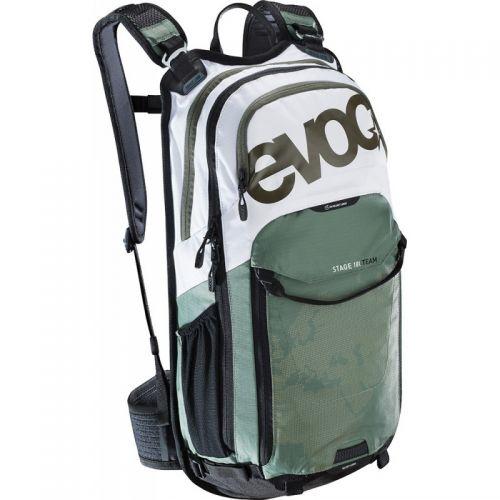 Sac À Dos Evoc Stage Team 18L Blanc/Olive (Ex Ref : 6231-176)