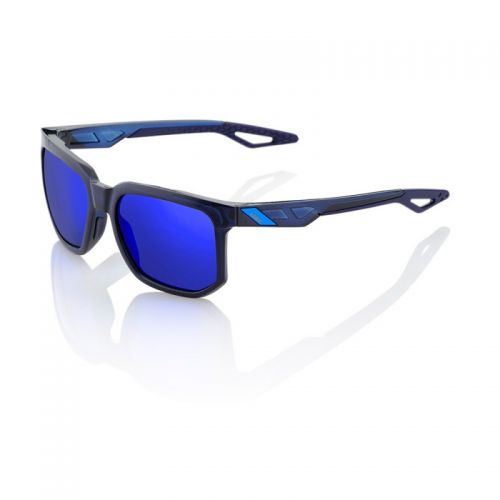 Lunettes 100% Centric - Polished Translucent Blue (Bleu) - Ecran Miroir Bleu