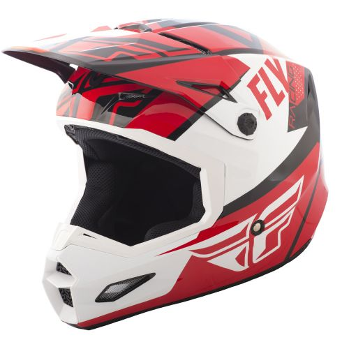 Casque Fly Elite Guild Rouge/Blanc/Noir