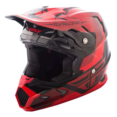 Casque Fly Toxin Original Rouge/Noir