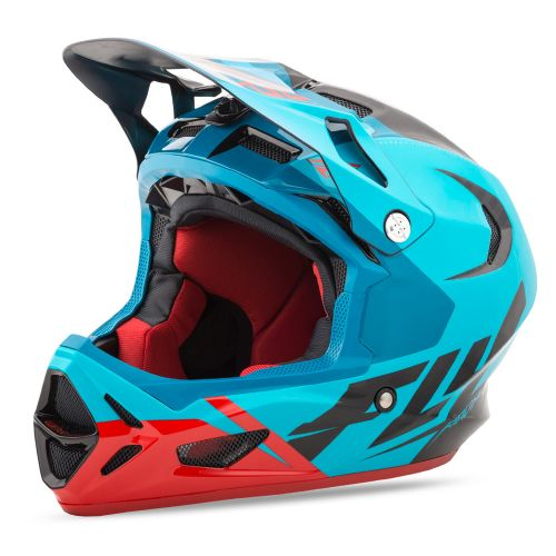 Casque Fly Werx Blue Red Black