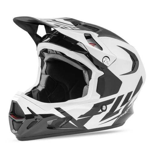 Casque Fly Werx White Black Red