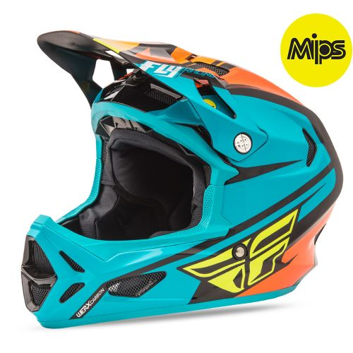 Casque Fly Werx Mips Teal Orange Black