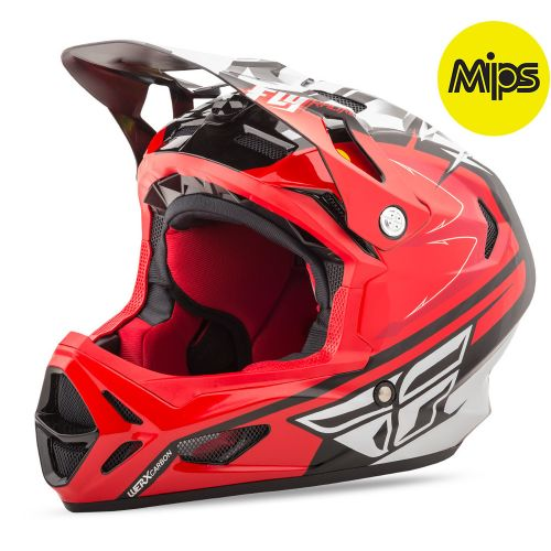 Casque Fly Werx Mips Red Black Palmer Replica