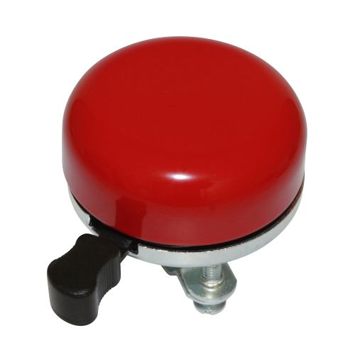 Sonnette Timbre Newton Uni Rouge Diam 55Mm