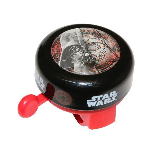 Sonnette Enfant Timbre Star Wars Noir-Rouge 55Mm