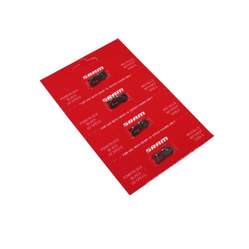 Connecteur De Chaine Velo 10V Sram Noir (4 Pieces)
