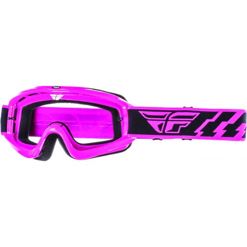 Masque Fly Focus Rose Ecran Translucide