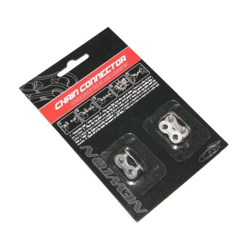 Connecteur De Chaine Velo 7-8V Newton Anti-Rouille Compatible Shimano-Sram (2 Pieces)