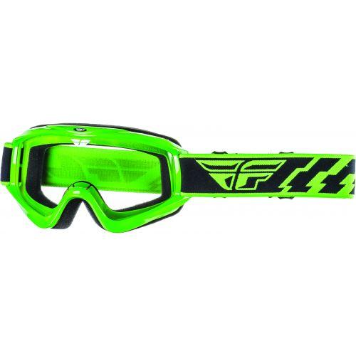 Masque Fly Focus Vert Ecran Translucide