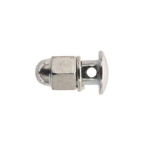 Serre Cable De Frein Diam 5X80 Trou 2,2Mm Ecrou Borgne (00417000-025) (Blister De 25)