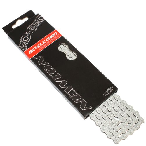 Chaine Velo 10V Newton Anti-Rouille Gris 114 Maillons