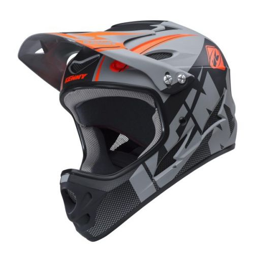 Casque Kenny Down Hill Gris/Noir