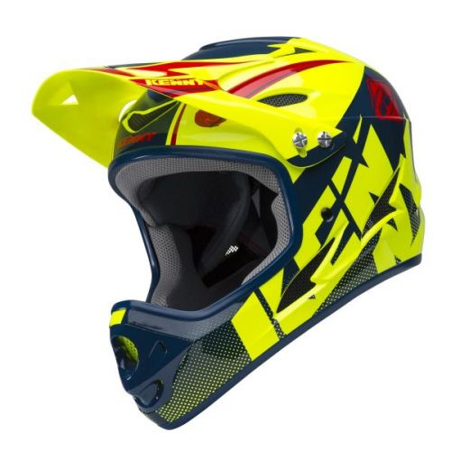 Casque Kenny Down Hill Jaune Fluo/Navy