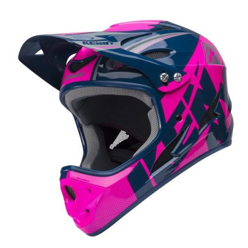 Casque Kenny Down Hill Navy/Rose