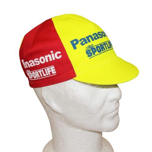 Casquette Velo Equipe Vintage Panasonic Sportlife