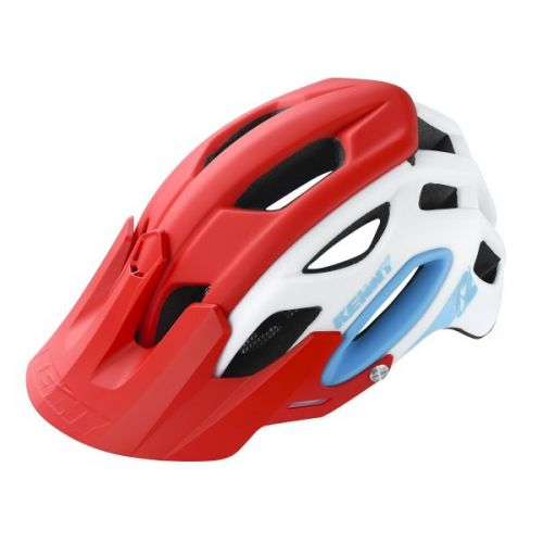 Casque Kenny Enduro S3 Blanc/Rouge