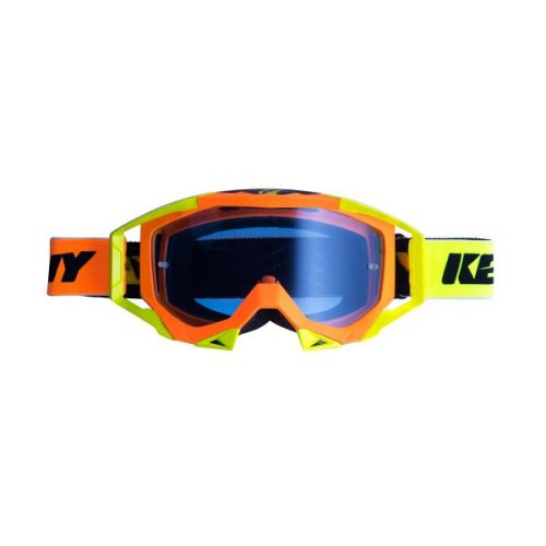 Masque Kenny Titanium Orange Fluo