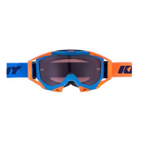 Masque Kenny Titanium Cyan/Orange