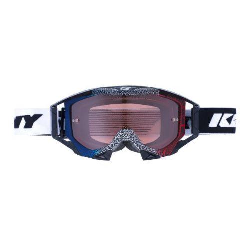 Masque Kenny Titanium Granit Bleu/Blanc/Rouge
