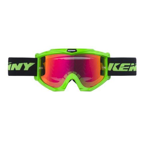 Masque Kenny Track Vert Fluo