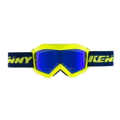 Masque Kenny Track Bleu/Jaune Fluo