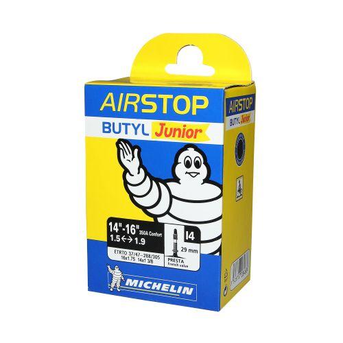 Chambre A Air Velo 16 X 1.75-350A Michelin I4 Valve Presta Long. 36Mm 99G