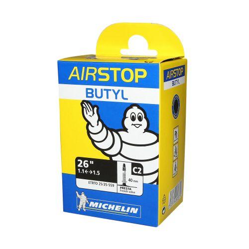 Chambre A Air Velo 26 X 1.00-1.50 Michelin C2 Valve Presta Long. 40Mm 135G