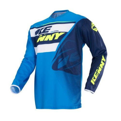 Maillot Kenny Track Navy/Cyan