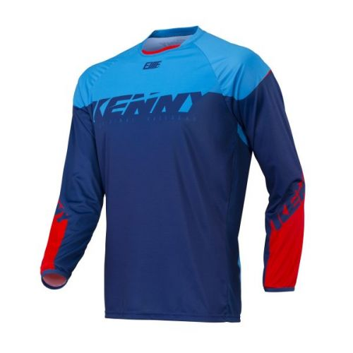 Maillot Kenny Bmx Elite Navy/Cyan