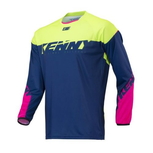 Maillot Kenny Bmx Elite Navy/Lime