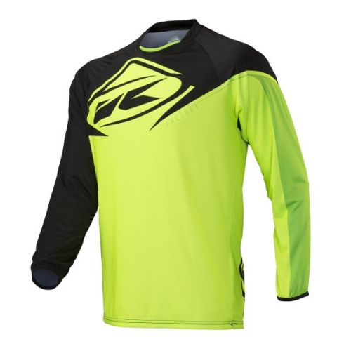 Maillot Kenny Factory Noir/Lime