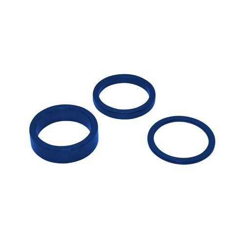 Entretoise Direction Alu Kit Bleu 1