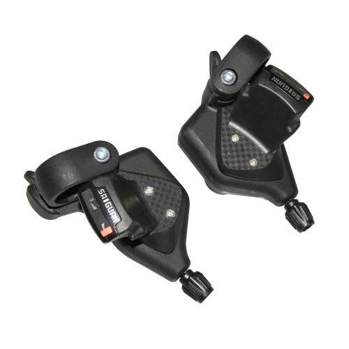 Manette Vtt P2R Indexe Alu Rapid Push-Pull 8V (Paire)