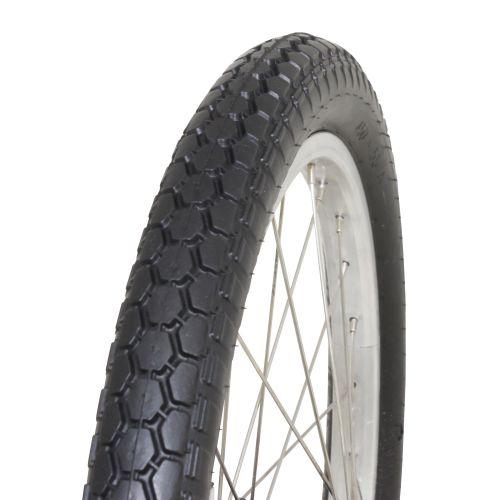 Pneu Remorque 450 X 55 Noir Hutchinson Tt (18 X 1 3/8) (57-390)
