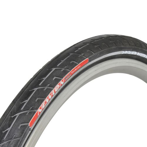 Pneu Vtt 26 X 1.50 Newton Slick Haute Protection Renfort Anti-Crevaison Protectivelayer 3Mm Noir Tr Flanc Reflecteur (40-559)