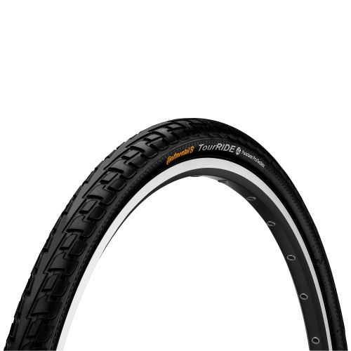 Pneu City-Vtc 700 X 28 Continental Tour Ride Noir Tr (28 X 1,10) (28-622)