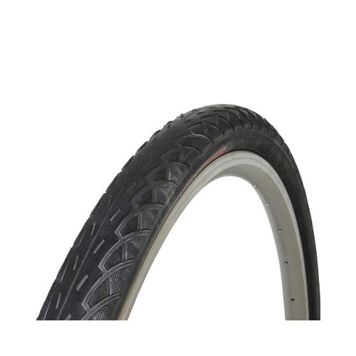 Pneu Vtt 26 X 1.75 Newton Slick Haute Protection Renfort Anti-Crevaison Protectivelayer 3Mm Noir Tr (47-559)