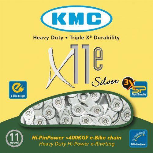 Chaine 11 Vitesses KMC Spécial Vae X11E Silver