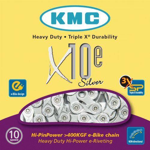 Chaine 10 Vitesses KMC Spécial Vae X10E Silver
