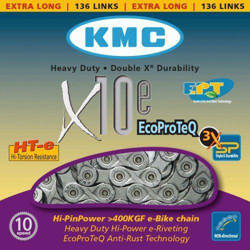 Chaine 10 Vitesses KMC Spécial Vae X10E EPT