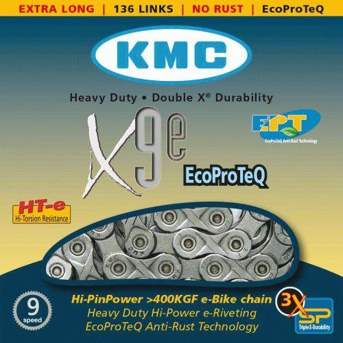 Chaine 9 Vitesses KMC Spécial Vae X9E EPT