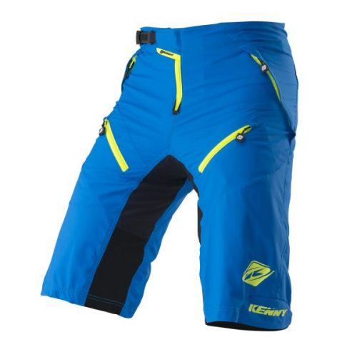 Short Kenny Havoc Cyan/Jaune Fluo