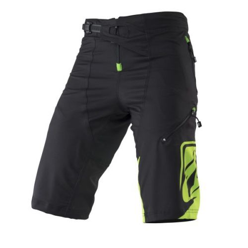 Short Kenny Factory Noir/Lime