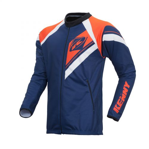 Veste Zippée Kenny Enduro Navy/Orange Fluo